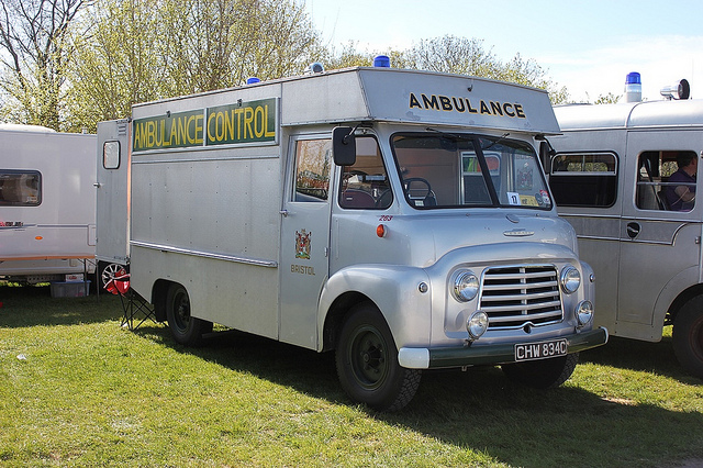 1957 CHW Commer Ambulance