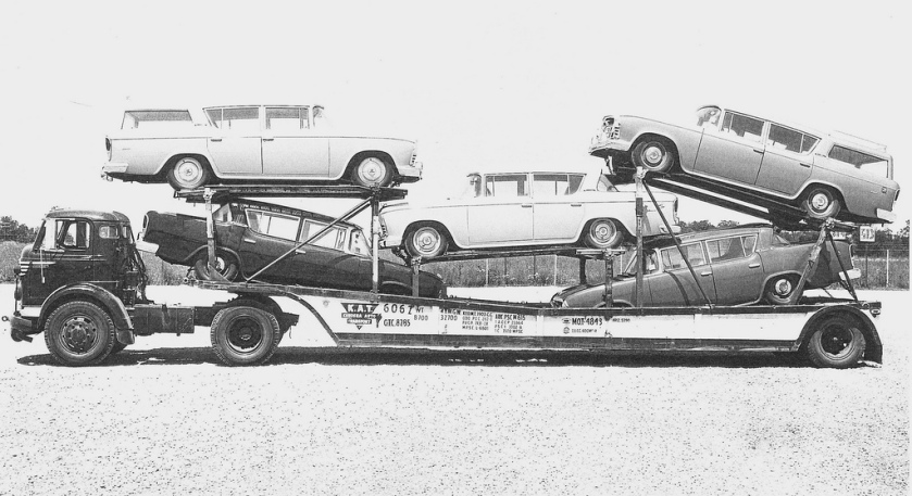 1957 Commer 57 Ramblers on KAT rig
