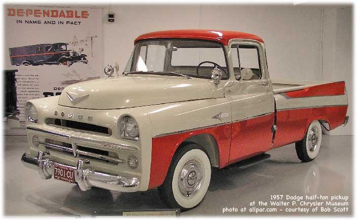 1957 dodge half ton truck