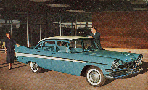 1957 Dodge Mayfair Sedan (Canada)