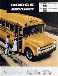 1957 Dodge Schoolbus