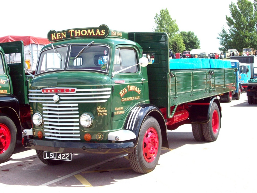 1958 Commer C Series Dropside Registered LSU 422