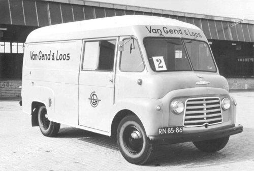 1958 Commer Van Gend & Loos RN-85-86