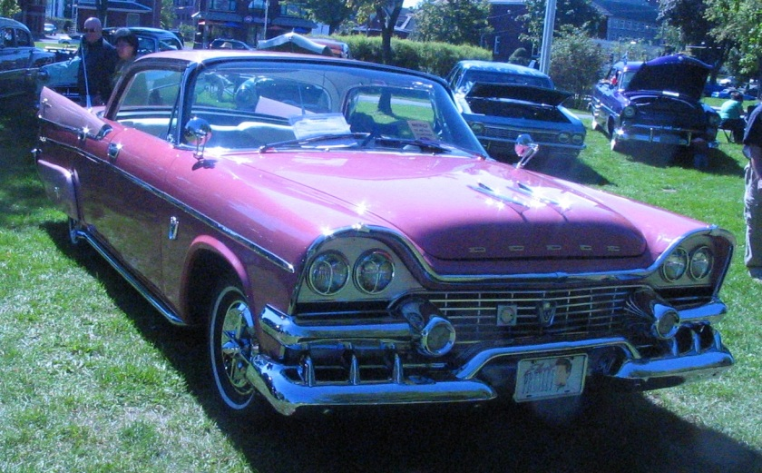 1958 Dodge Coronet coupe