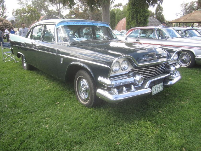 1958 Dodge Custom Royal 4-Door Sedan