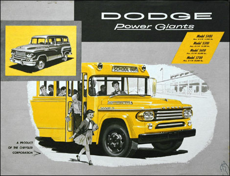 1958 Dodge School Buses