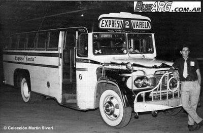 1958 Fargo Agosti Express Varela