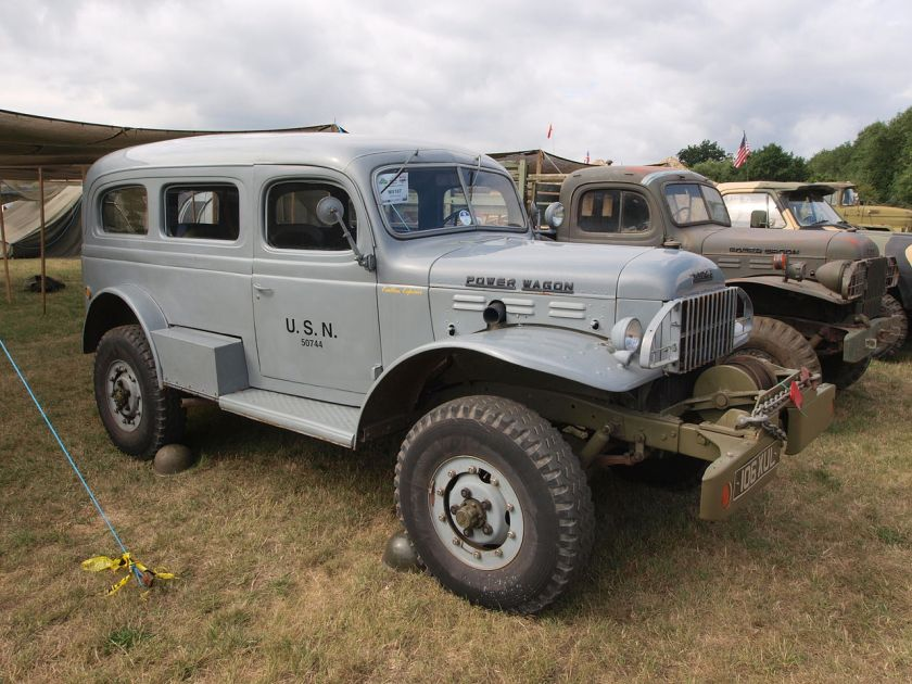 1958 WM-300 carryall in US Navy livery