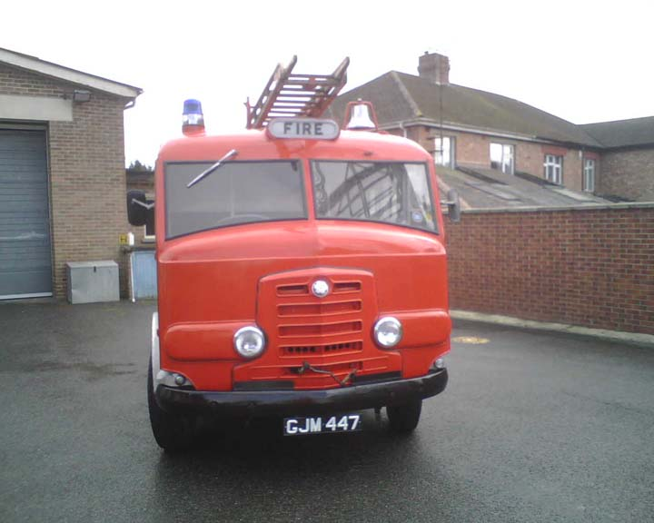1959 Commer Karrier Gamecock Fire engine GJM447