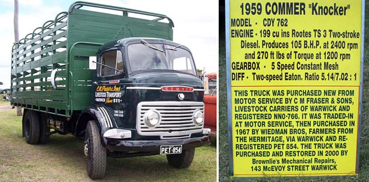 1959 Commer Knocker with history