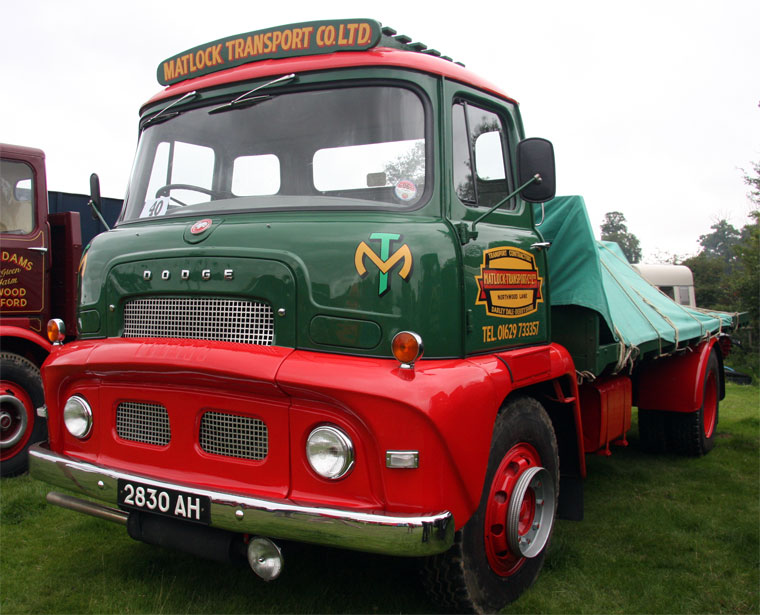 1959 Dodge Brothers Lorries