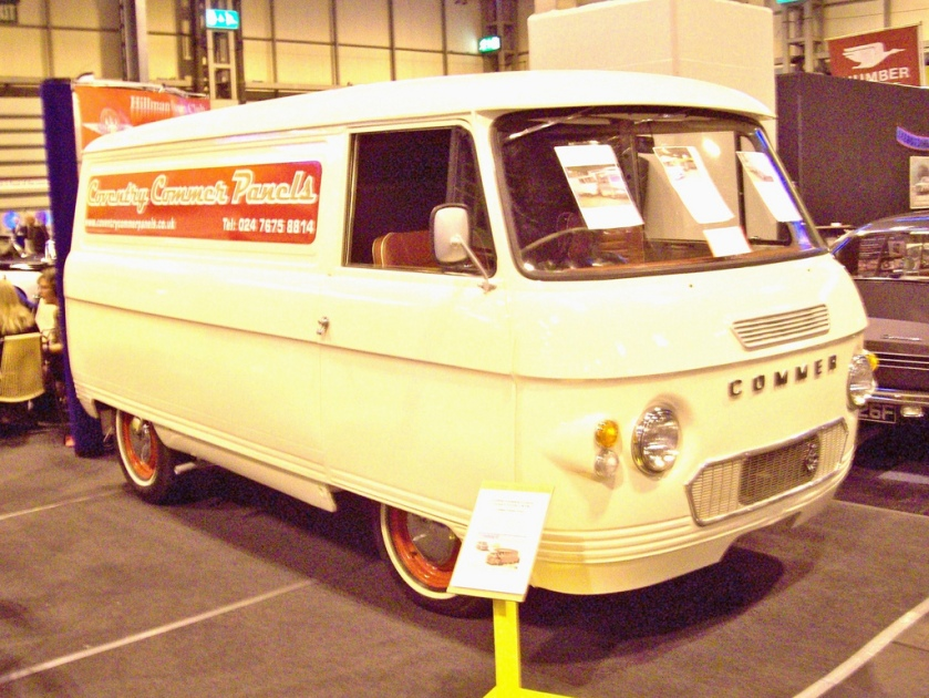 1960-82 Commer FC-PB-Spacevan Van Powered by either a 1500cc or 1725cc S4