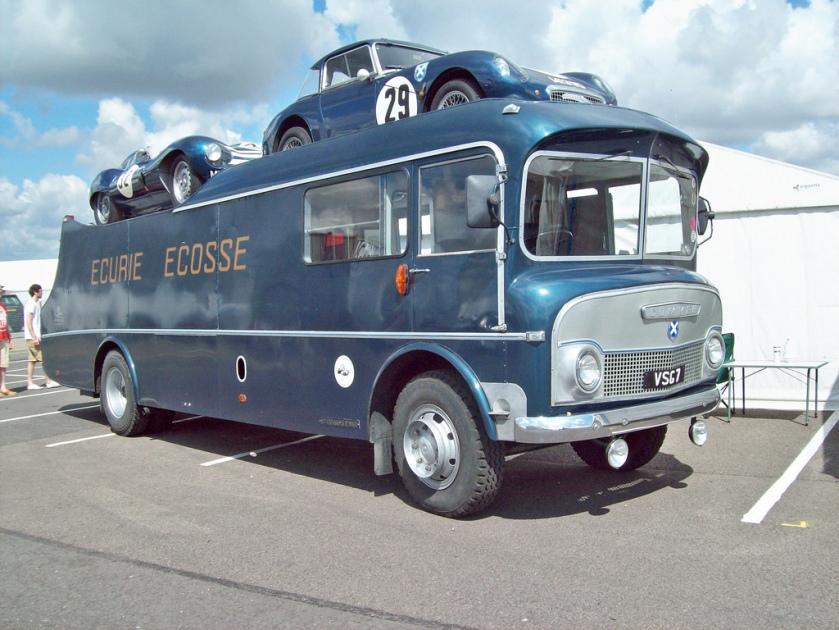 1960 Commer Avenger TS3 Transporter Engine 4200cc ECURIE ECOSSE