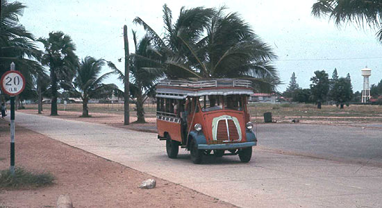 1960 Desoto Bangkok Thai Bus