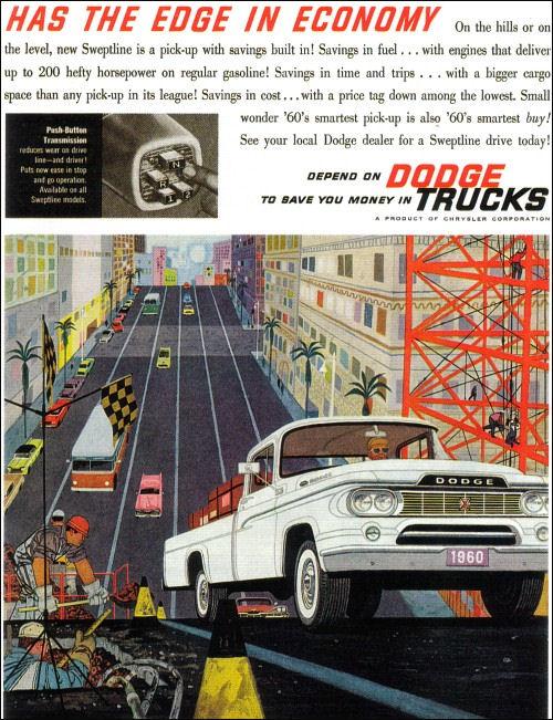 1960 Dodge pu