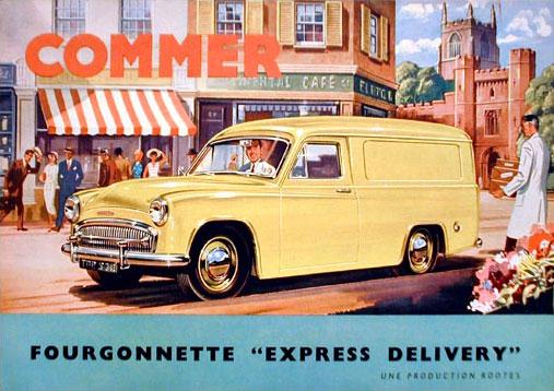 1961 Commer catalog