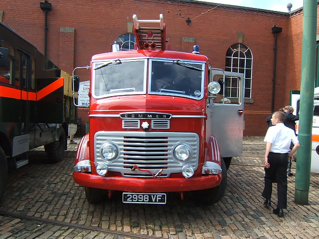 1961 COMMER FIRE ENGINE 6000cc 2998VF