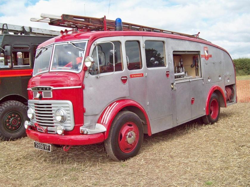 1961 Commer Fire Tender Engine 6000cc VF