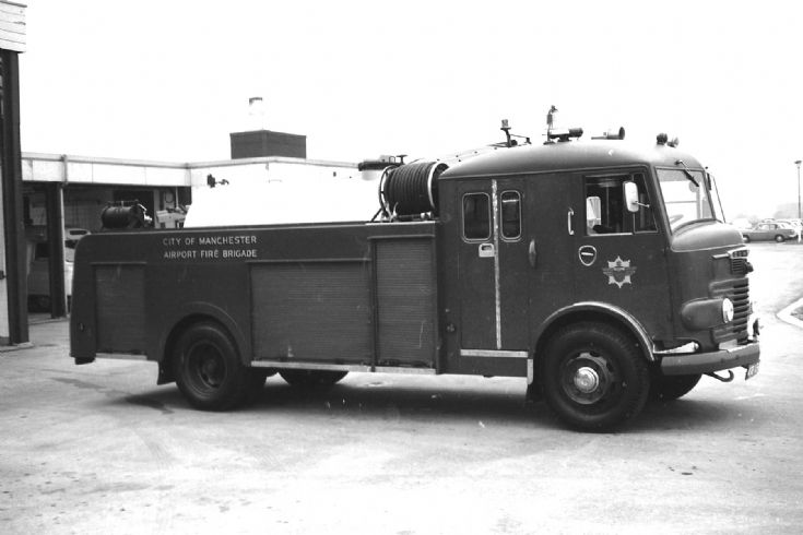1961 Commer Water Carrier Manchester airport