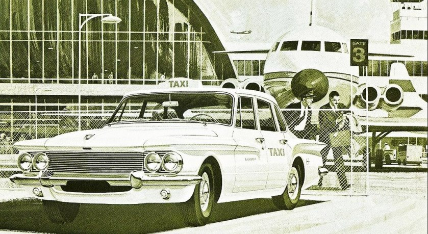 1961 Dodge Lancer - Compact Taxi