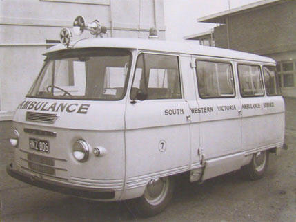 1962 Ambulance Commer Light Truck Ambulance Warrnombool