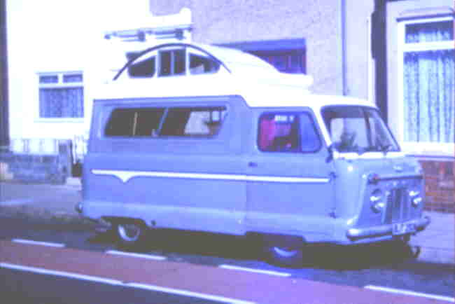 1962 Commer Sleeping car