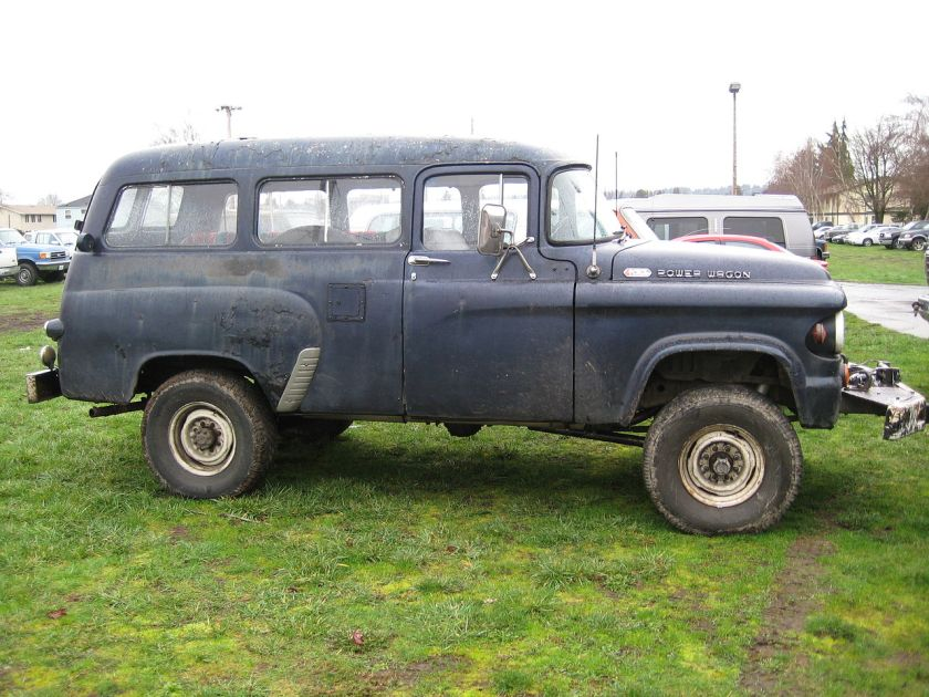 1963 Power Wagon carryall.
