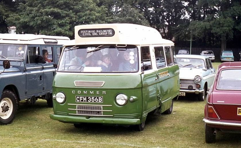 1964 Bussen Commer built in 1964 with Harrington B12 bodywork
