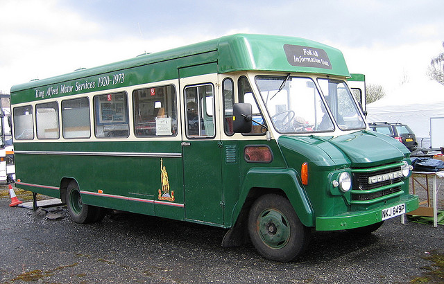 1964 Commer Walk Thru Bus