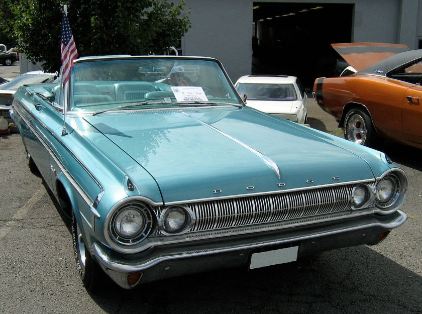1964 Dodge Polara 500 convertible - front