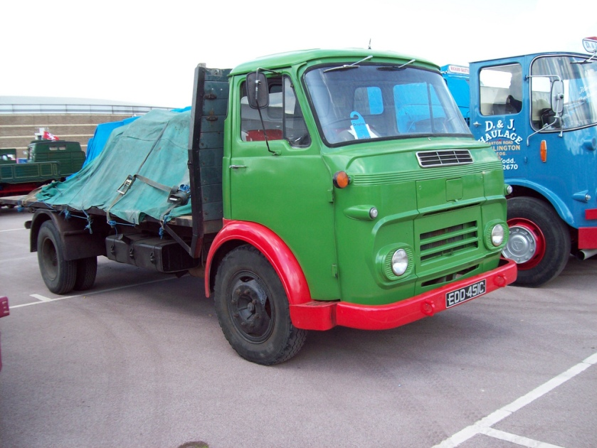 1965 Commer VB Flatback Registration EDD 451 C