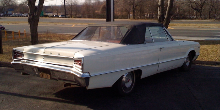1965 Polara convertible back