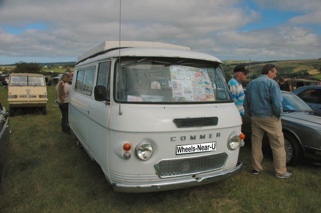 1966 Commer Van Grey