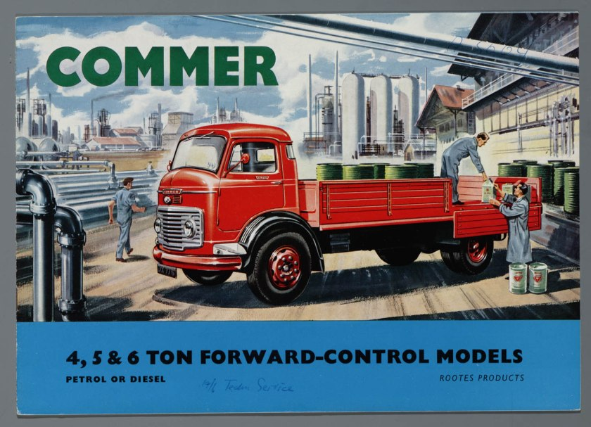 1967 Commer Brochure a