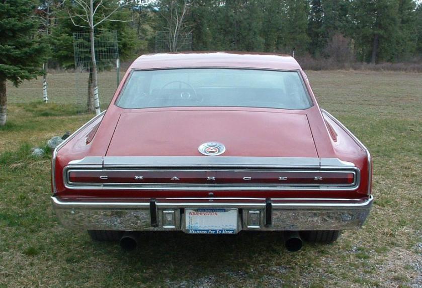 1967 Dodge Charger Nascar Spoiler