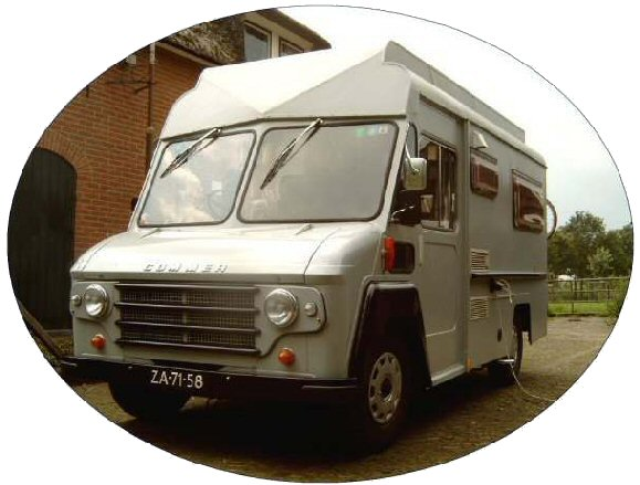1968 Commer Camper ZA 71 58