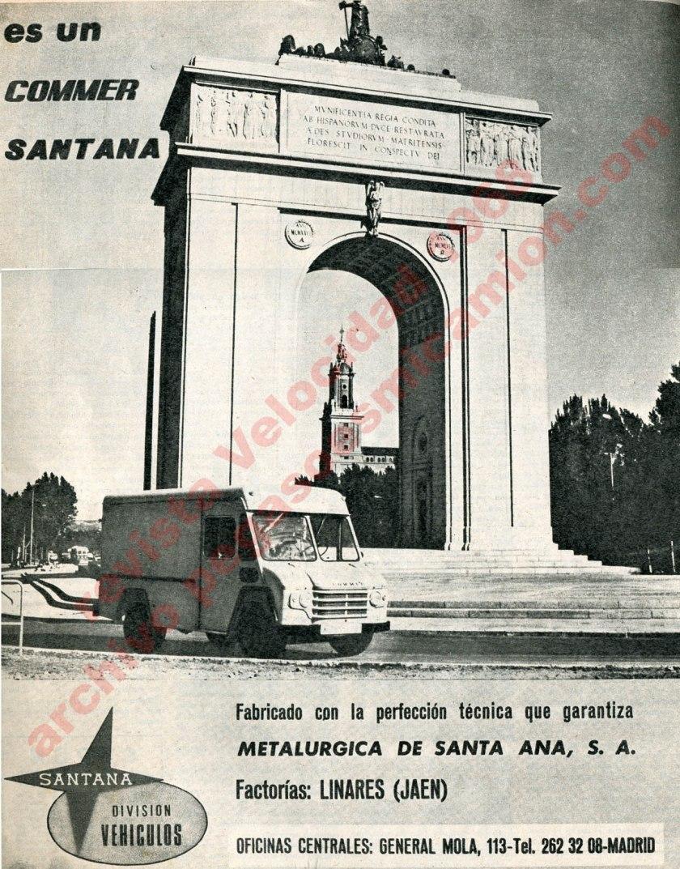 1968 commer santana velocidad 1968 publicidad pegasoesmicamion