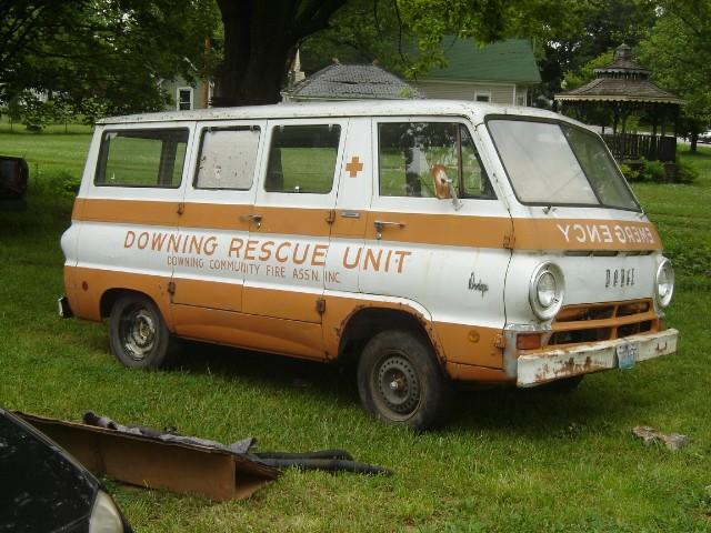 1968 Dodge A-100 Emergency Van
