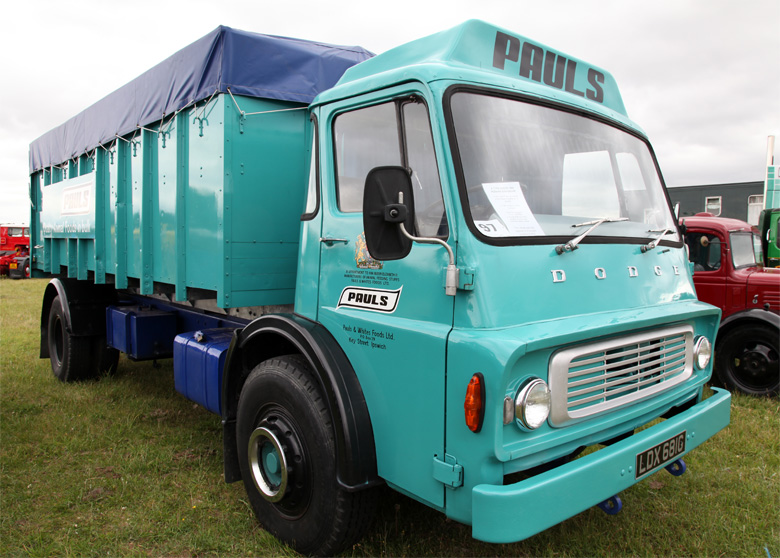 1968 Dodge Brothers Lorries K Typr