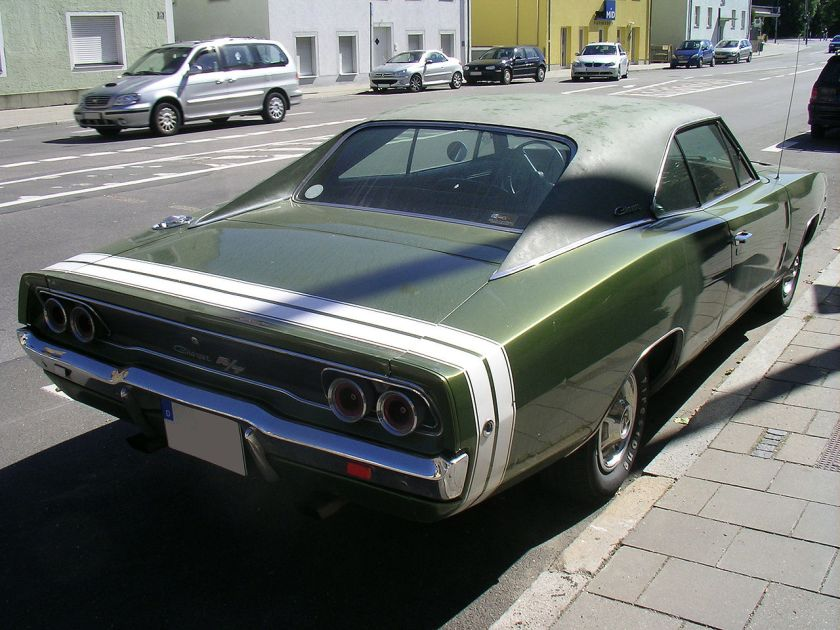 1968 Dodge Charger RT.Heck
