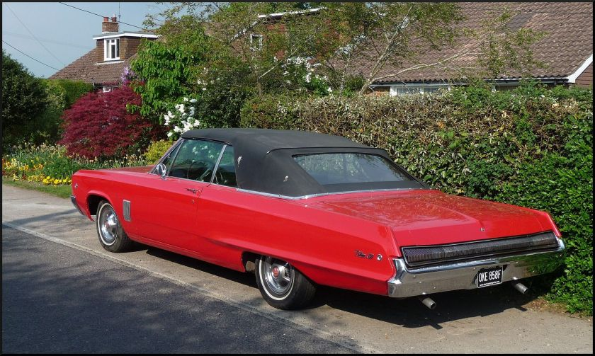 1968 Dodge Polara convertible
