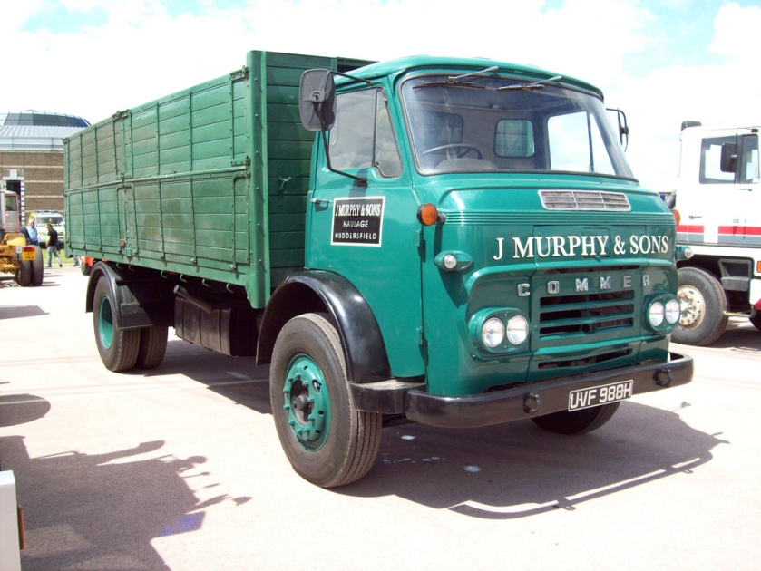 1969 Commer CE Maxiload Bulk Tipper Registered UVF 988 H
