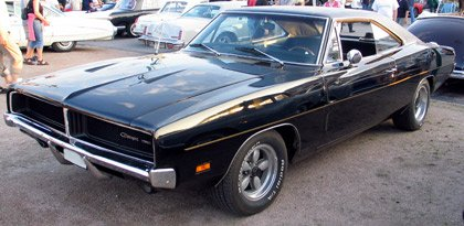 1969 Dodge-Charger-1969-Front