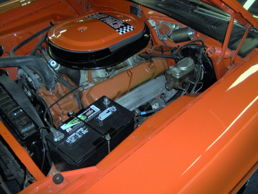 1970 Dodge Challenger RT 440 Six-Pack engine