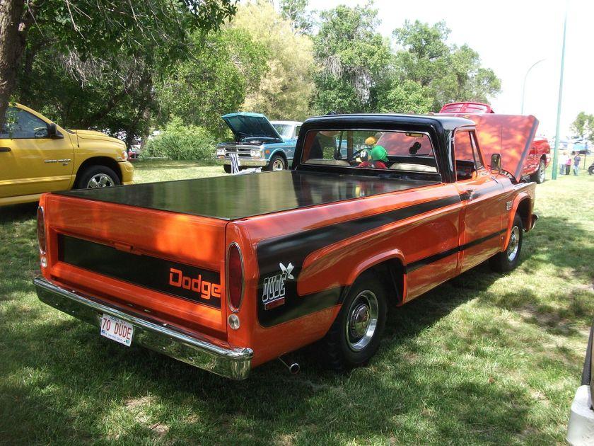 1970 Dodge The Dude pickup