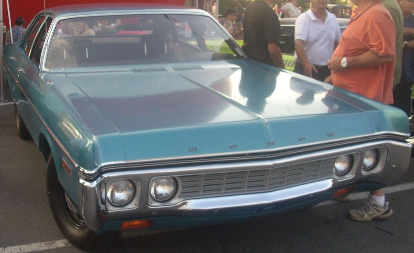 1972 Dodge Polara 4-Door Sedan