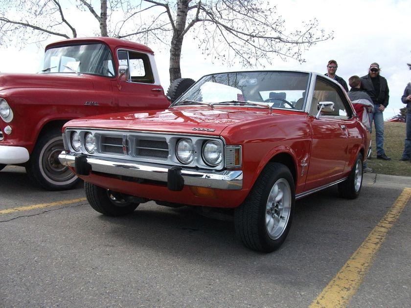 1973 Dodge(Mazda) Colt HT Coupe