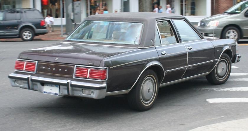 1977-79 Dodge Diplomat rear