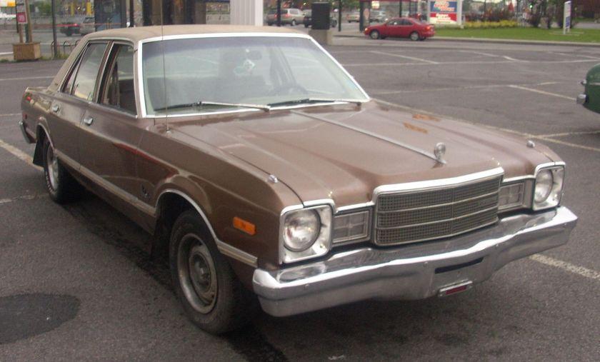 1977 Plymouth Volaré sedan