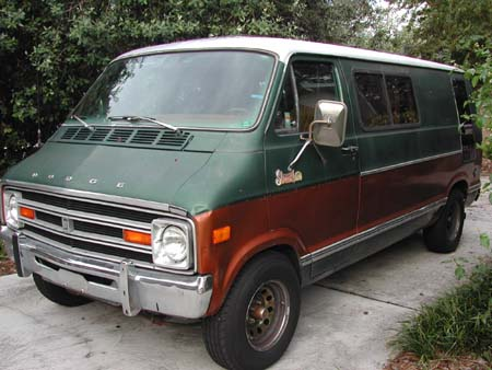 1978 Dodge Street Van